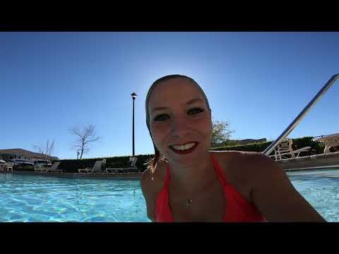 @TrinaMason underwater pool swimming 3:40pm march 4 2018 GH010314