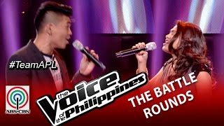 "The Voice of the Philippines Battle Round ""I Finally Found Someone"" by Samantha and Daryl"