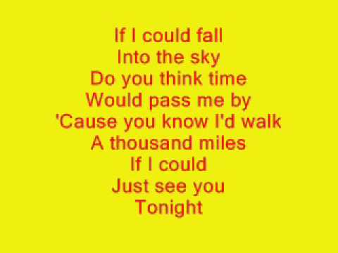 Vanessa Carlton - A Thousand Miles w/lyrics