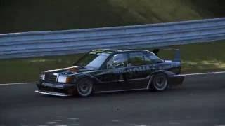 Project CARS PC replay: Historic TGA Euro Cup (Brno) Race, Mercedes-Benz 190E DTM Evolution 2