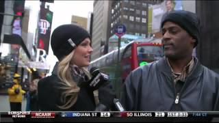 Allie LaForce hits Times Square