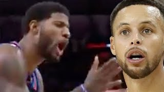 Steph Curry SLAMS Refs For Paul George's Technical!