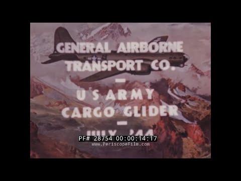 WWII FLIGHT TESTS OF XCG-16 CARGO GLIDER DESIGNED BY HAWLEY BOWLUS  28754