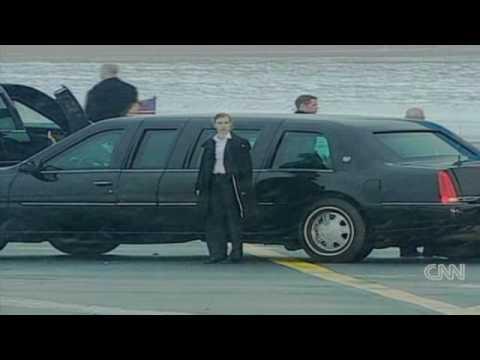 Obama arrives in Copenhagen
