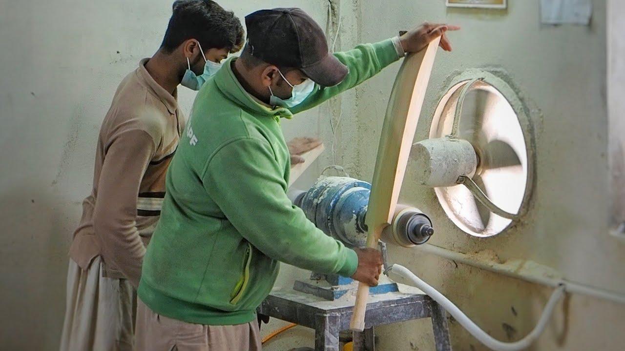 Inside a Pakistani Cricket Bat Factory 🏏