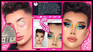 James Charles CLAPS BACK Over His Money 💰 + He PHOTOSHOPPED His Eyes 👀