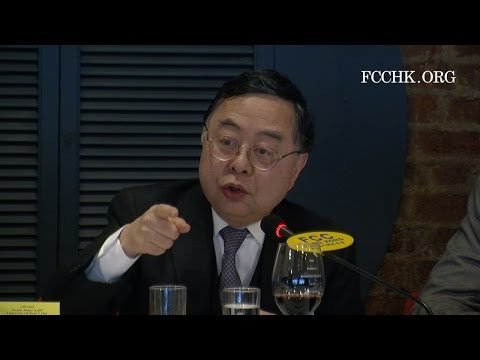 2016.01.14 Ronnie Chan - Is Hong Kong's Property Boom Finally Over ?