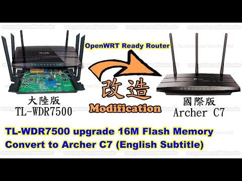 Repeat 信号强劲的😎Archer C7 WDR7500无线路由器,😀原厂固件与