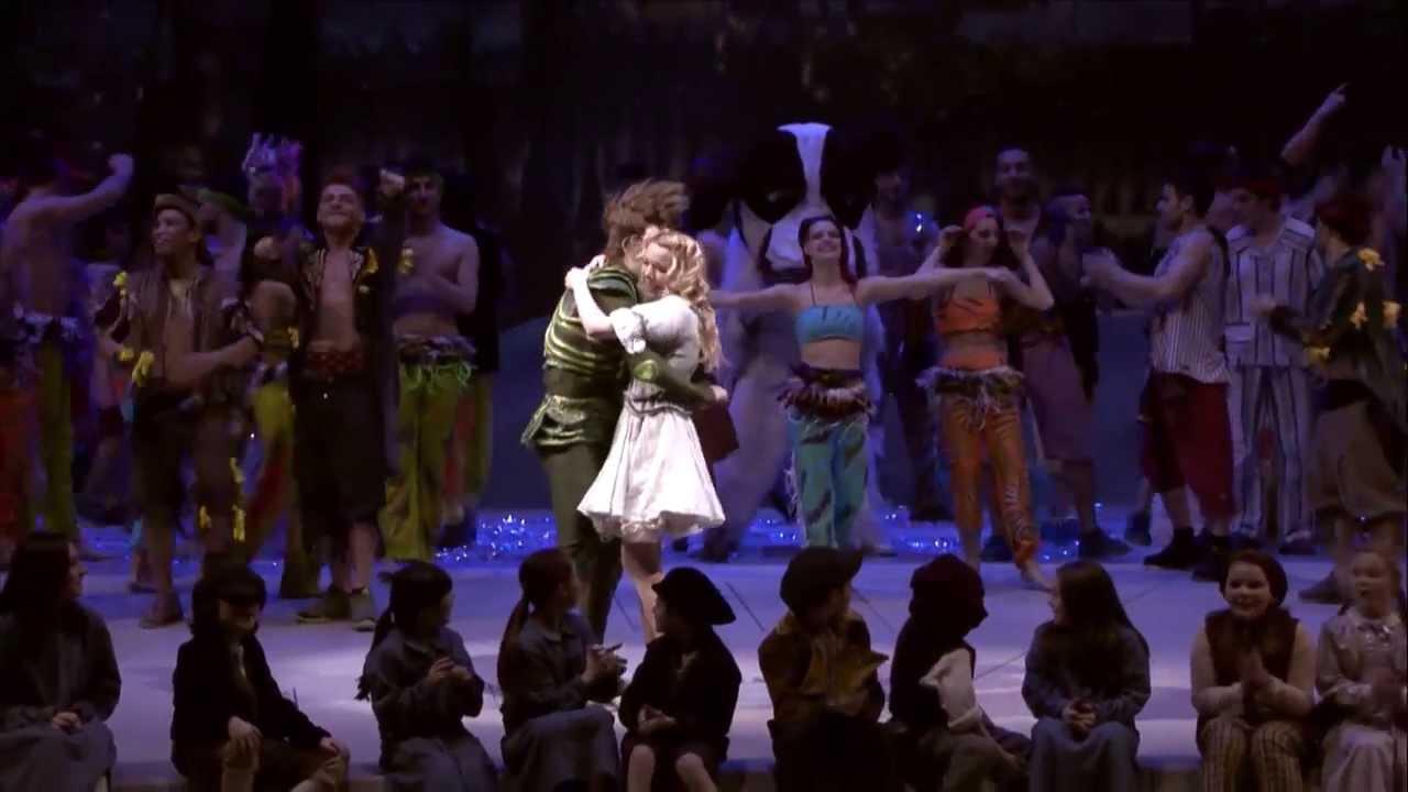 Peter Pan On Stage Proposal to Wendy - original video