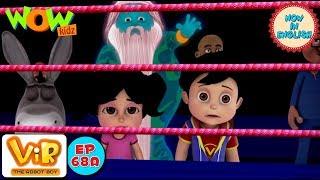 vir the robot boy gintu ki boxing as seen on hungamatv in english