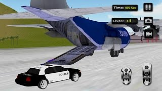 Police Car Airplane Transport (by Game Brick Studio) Android Gameplay [HD]