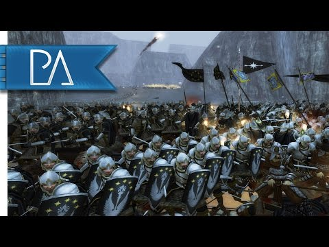 Moria Under Siege: Fight to the Last - Third Age Total War: Reforged Gameplay