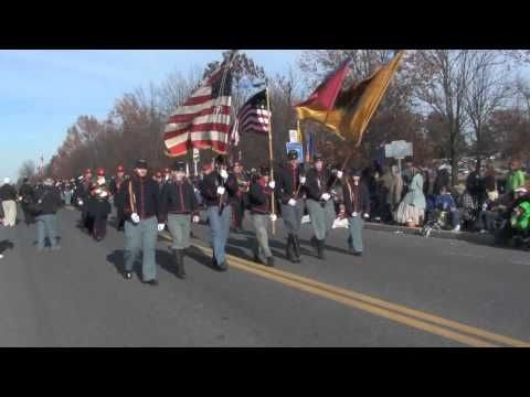 Union Soldiers in the Gettysburg Parade
