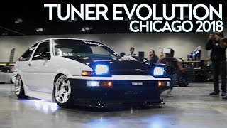 Tuner Evolution Chicago 2018 HALCYON (4K)