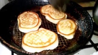 оладьи как готовить видео