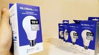 Светодиодная лампа 10Вт global led 1-GBL-163 | обзор лампы