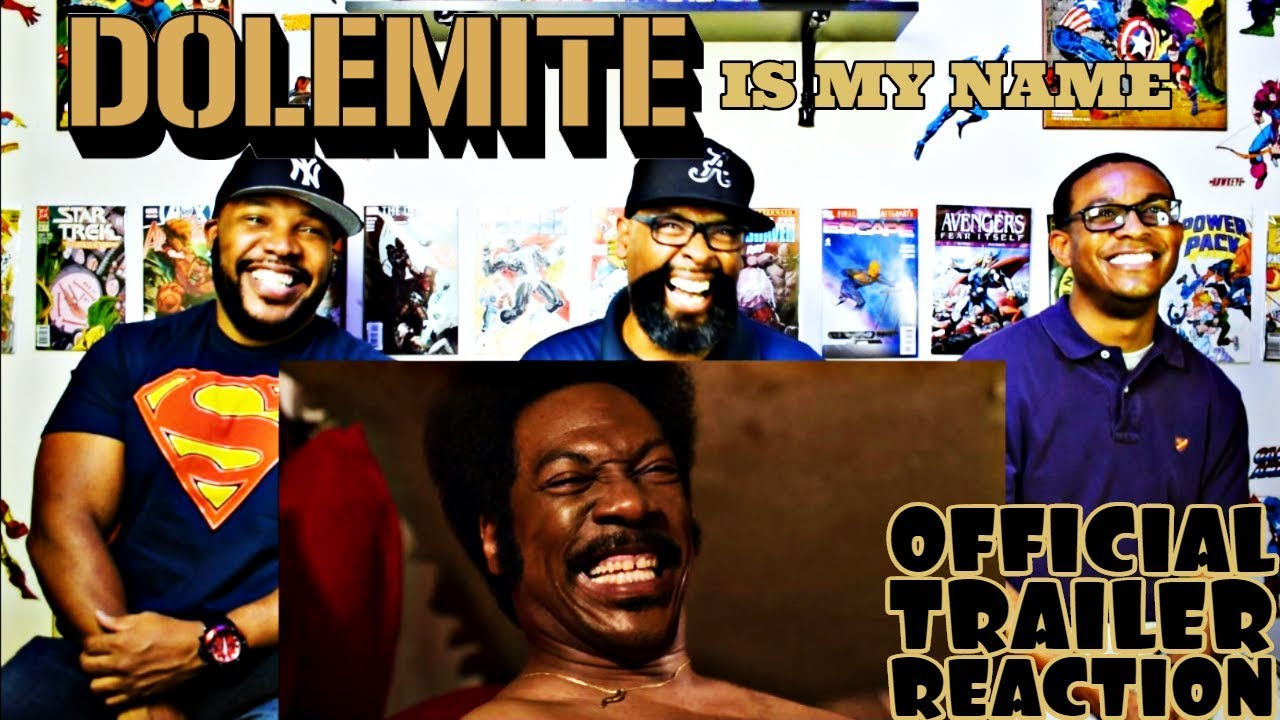 Dolemite Is My Name Official Trailer Reaction
