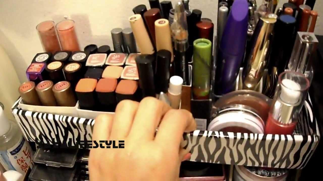 Diy Vanity Makeup Storage Ideas Youtube