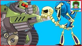 Терминатор 9000 БОСС Игровой Мультфильм для детей про БОИ и СРАЖЕНИЯ Tower Conquest