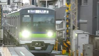 京王線ラッシュ 都営新宿線10-300形区間急行 上北沢駅通過