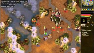 Ricemuncher Vs Igorbat99 - Dwarves Vs Undead - Replay Of Battle For Wesnoth Ladd