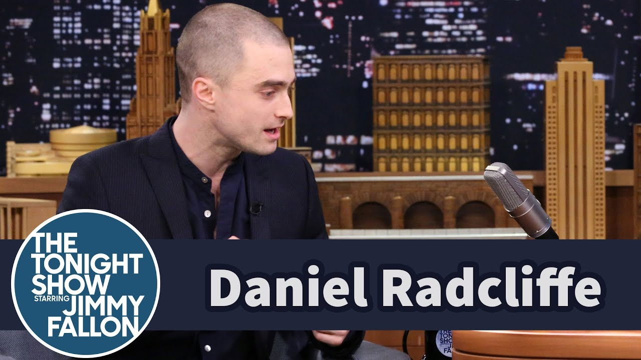 daniel radcliffe shaves head