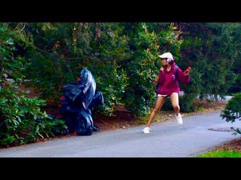 Garbage Bag SCARE PRANK (Gone Wrong!) | Princeton Tonight