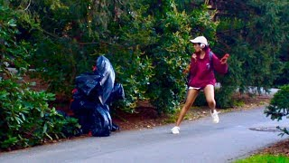 Garbage Bag SCARE PRANK (Gone Wrong!) | Princeton Tonight