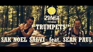 Sak Noel Salvi feat. Sean Paul - Trumpets ZUMBA®