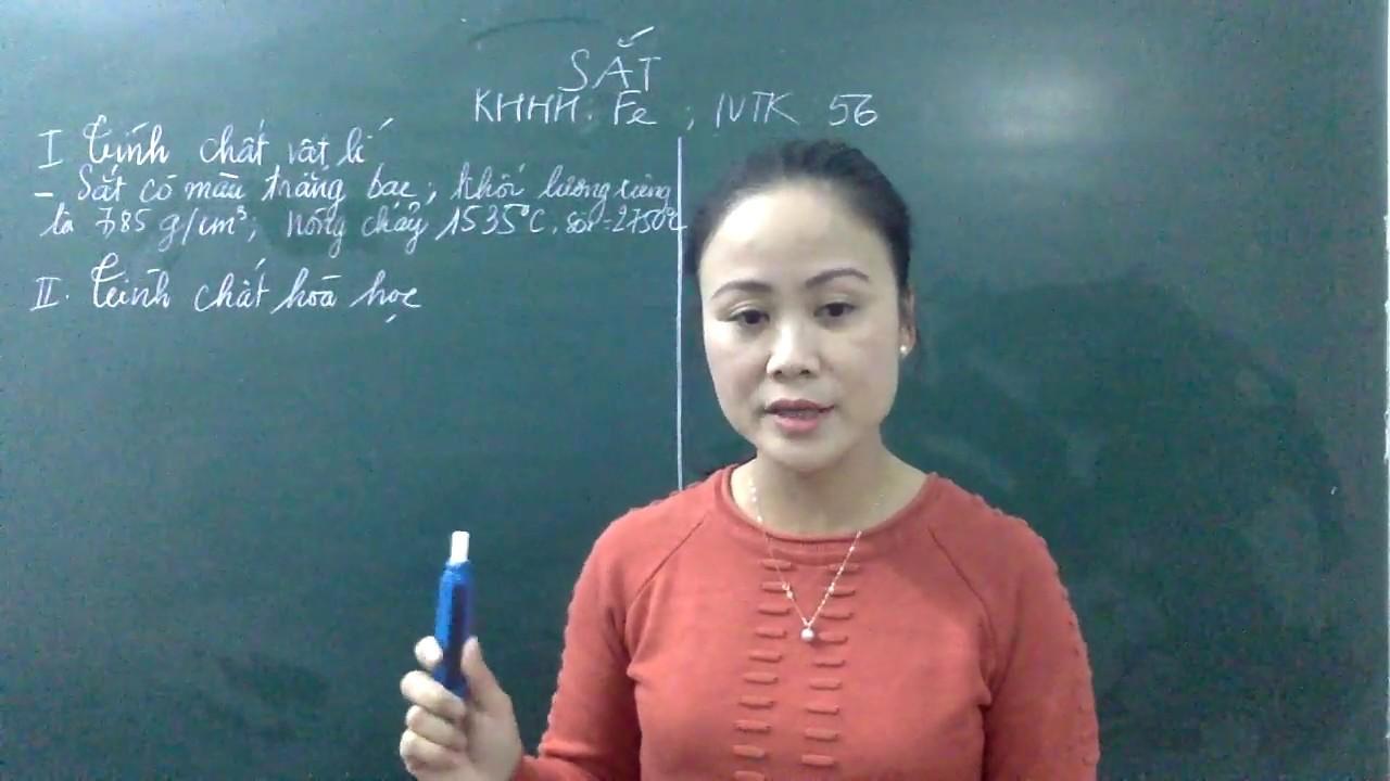 Tính chất hóa học của sắt Hóa 9 (phần 1)