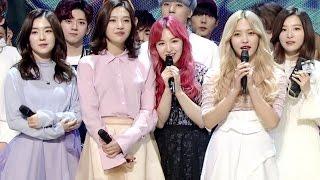 Video 《Inkigayo WIN》 인기가요 1위 발표 Red Velvet(레드벨벳) - One Of These Nights(7월 7일) 20160327 download MP3, 3GP, MP4, WEBM, AVI, FLV Juli 2018