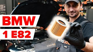 Cómo cambiar Filtro de aceite motor BMW 1 Coupe (E82) - vídeo guía