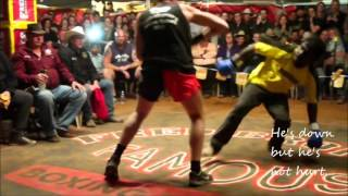 Scott Crawford fights challenger - Outback Fight Club - Mt Isa 2015