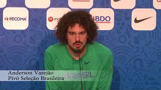 Basquete Masculino: Brasil atropela Colômbia no Goiânia Arena