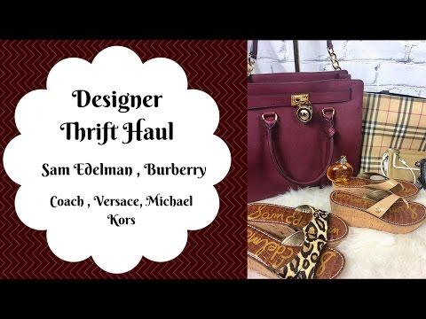 a28773b6418d Designer Thrift Haul ~ marc jacobs~ Michael Kors ~Burberry ~Nail ...