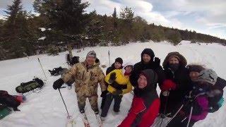 Рождественский лыжный поход по южному Уралу или полное