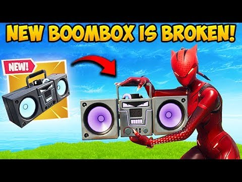 *NEW* BOOMBOX IS SUPER OP! - Fortnite Funny Fails and WTF Moments! #427