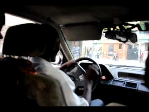 Taxi ride from downtown Port au Prince to Petion Ville