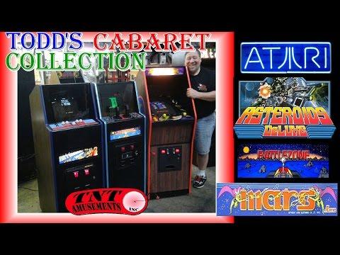 #1177 Atari BATTLEZONE & ASTEROIDS DELUXE-Artic MARS Arcade Video Game CABARETS-TNT Amusements