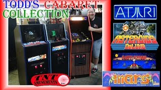 #1177 Atari BATTLEZONE & ASTEROIDS DELUXE-Artic MARS Arcade Video Game CABARETS-TNT Amusements