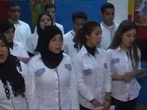 Choral de la Faculté des Lettres de Mohammedia encadré par Kamal HJIRA