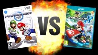 Mario Kart Wii VS Mario Kart 8