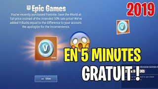 [EXCLU] ✅ GLITCH VBUCKS 🔥 HAVE 5000 VBUCKS FREE on FORTNITE! PS4/XBOX ONE/PC/SWITCH 💥