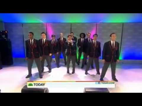 GLEE: The Warblers Perform Train's Hey, Soul Sister On Today live!!
