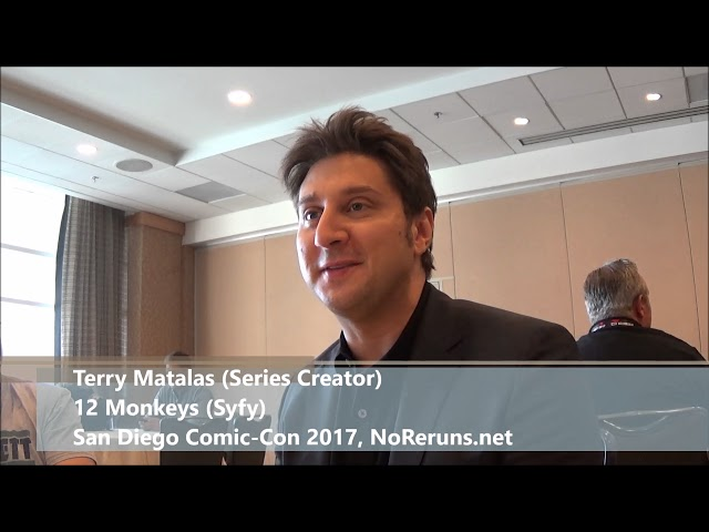 12 Monkeys Q&A with Terry Matalas (SDCC 2017)