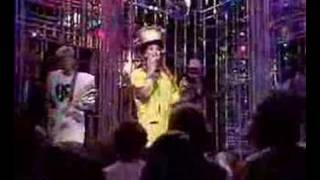 Culture Club on Top of the Pops, 1983. Singing Karma Chameleon. Unf...