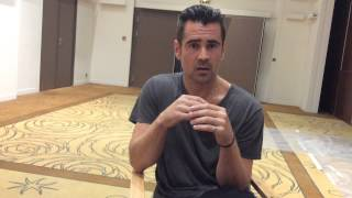 Collin Farrell and Lucie Carrasco about Keep on Rolling fondation - Cannes 2015 #followlucie