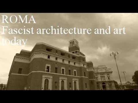 MVSSOLINI architecture and art in Rome Italy today