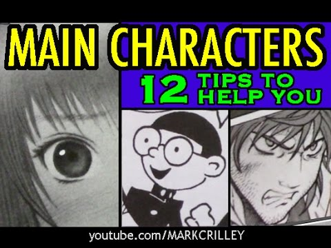 Main Characters: 12 Tips to Help You
