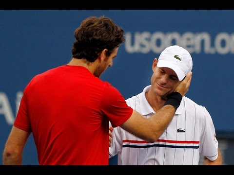Juan Martin Del Potro VS Andy Roddick Highlight 2012 R4